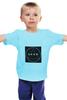 """Детская футболка """"Футболка с логотипом LOOK"""" - современная, круг, молодежная, квадрат, look, swag, trap, triangle, черный квадрат, абстракт"""