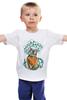 """Детская футболка """"Космос внутри Нас"""" - арт, рисунок, космос, океан, космонавт"""