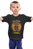 """Детская футболка """"Столкновение кланов (Clash of Сlans)"""" - столкновение кланов, clash of сlans"""