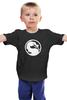 """Детская футболка """"Mortal Kombat (Мортал Комбат)"""" - mortal kombat, mk, cмертельная битва"""