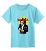 """Детская футболка классическая унисекс """"Человек в чёрном"""" - бэтмен, комиксы, летучая мышь, супергерои, batman"""