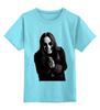 """Детская футболка классическая унисекс """"Оззи Осборн"""" - рок, heavy metal, ozzy, black sabbath, оззи осборн, ozzy osbourne, оззи"""