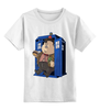 """Детская футболка классическая унисекс """"Fat Doctor Who"""" - doctor who, доктор кто, тардис, обжорство"""