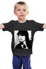 """Детская футболка классическая унисекс """"Виктор Цой"""" - рок, цой, кумир, виктор цой"""