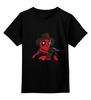 """Детская футболка классическая унисекс """"Дэдпул"""" - deadpool, марвел, фредди крюгер, дэдпул, антигерой"""