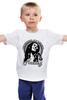 """Детская футболка классическая унисекс """"Bob Marley (Боб Марли)"""" - регги, боб марли, bob marley, reggae, ska, jamaica"""