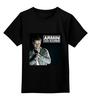 """Детская футболка классическая унисекс """"armin van buuren"""" - dj, диджей, armin van buuren, армин ван бюрен"""
