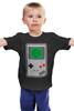 """Детская футболка классическая унисекс """"Don't hate the player (gameboy)"""" - nintendo, игрок, player, гейм бой, game boy"""