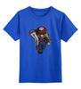"""Детская футболка классическая унисекс """"Марио и принцесса"""" - принцесса, nintendo, mario, марио"""