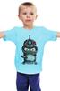 "Детская футболка ""Бендер из Футурамы"" - арт, рисунок, futurama, bender, science fiction"