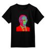 """Детская футболка классическая унисекс """"Поп-Арт-Путин"""" - поп-арт, россия, путин, президент, кремль"""