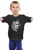 """Детская футболка классическая унисекс """"Kurt Cobain"""" - nirvana, рок, kurt cobain, курт кобейн, нирвана"""
