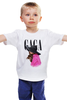 """Детская футболка классическая унисекс """"lady gaga in purple"""" - lady gaga, леди гага, artpop"""