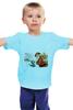 "Детская футболка ""дед мороз"" - new year, santa claus"