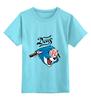 """Детская футболка классическая унисекс """"Deus Ex Customs"""" - caferacer, custom, deus, deusex"""