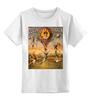 """Детская футболка классическая унисекс """"ретро плакат"""" - ретро, плакат, шоу, афиша, цирк"""