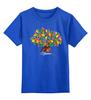 """Детская футболка классическая унисекс """"iCalistini The Happiness Tree Дерево Счастья"""" - счастье, дерево счастья"""