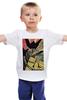 """Детская футболка классическая унисекс """"человек с киноаппаратом """" - арт, ретро, фильм, постер, старое кино"""