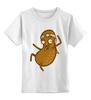 """Детская футболка классическая унисекс """"Каратэ Орех"""" - безумный, каратэ, орех, nut"""
