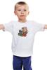 """Детская футболка """"9-ый Доктор Кто"""" - доктор кто, ты моя мамочка, пустой ребенок, кристофер эклстон, 9 доктор"""