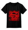 """Детская футболка классическая унисекс """"Superman """" - comics, супермен, комиксы, superman, герой, супермэн, dc, superhero, hero"""