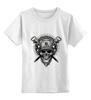 """Детская футболка классическая унисекс """"Terror Noise Division"""" - череп"""