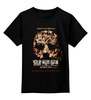 """Детская футболка классическая унисекс """"Halloween"""" - хэллоуин, ужасы, иероглифы, kinoart"""