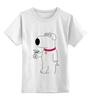 """Детская футболка классическая унисекс """"BRIAN GRIFFIN"""""""