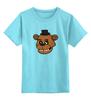 """Детская футболка классическая унисекс """"Пять ночей у Фредди (Five Nights at Freddy's)"""" - five nights at freddy, пять ночей у фредди"""