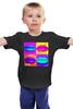 """Детская футболка классическая унисекс """"POP LIPS"""" - арт, губы, поп-арт, pop art"""
