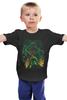 """Детская футболка классическая унисекс """"Ктулху"""" - монстр, ктулху, осьминог, cthulhu"""