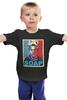 "Детская футболка ""Тайлер Дерден (Бойцовский Клуб)"" - бойцовский клуб, бред питт, brad pitt, fight club, soap"