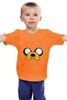 "Детская футболка "" Jake-Dog"" - adventure time, время приключений, jake, jake the dog"