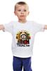 "Детская футболка ""Гагарин"" - космос, гагарин, марихуана, спутник, юрий гагарин"