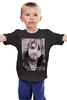 """Детская футболка классическая унисекс """"Nirvana"""" - авторские майки"""