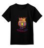 """Детская футболка классическая унисекс """"Cesare-FC Batcelona 15"""" - barcelona, тослтовка"""