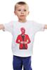 """Детская футболка классическая унисекс """"Spiderman"""" - marvel, spiderman, человек-паук"""