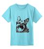 """Детская футболка классическая унисекс """"Овчарка"""" - dog, собака, пёс, german shepherd, немецкая овчарка"""