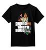 """Детская футболка классическая унисекс """"Grand Theft Auto V"""" - gta, gta5, grand theft auto v"""