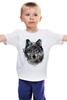 """Детская футболка классическая унисекс """"Серый Волк"""" - animal, волк, wolf"""