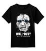 "Детская футболка классическая унисекс ""Wall of Duty (White Walkers)"" - call of duty, игра престолов, game of thrones, белые ходоки, white walkers"