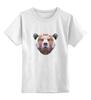 """Детская футболка классическая унисекс """"Медведь"""" - bear, медведь, россия"""