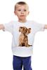 """Детская футболка классическая унисекс """"music"""" - cute, puppy"""