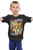 """Детская футболка классическая унисекс """"Супермен (и тд)"""" - поп арт, comics"""