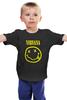 """Детская футболка классическая унисекс """"Nirvana"""" - nirvana, рок, kurt cobain, курт кобейн, нирвана"""