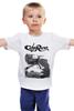 """Детская футболка классическая унисекс """"Caferacer girl"""" - байк, vintage, racer, caferacer, dotheton"""