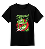 """Детская футболка классическая унисекс """"Лизун (Охотники за Привидениями)"""" - охотники за привидениями, ghostbusters, лизун, slimer"""