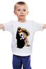 """Детская футболка """"Манки Д. Луффи (Соломенная шляпа)"""" - one piece, большой куш, соломенная шляпа, луффи"""