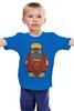 """Детская футболка классическая унисекс """"Железный Тоторо"""" - тоторо, totoro, железный человек, iron man, мой сосед тоторо"""