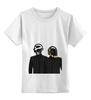 """Детская футболка классическая унисекс """"Daft Punk - Electoma """" - робот, электроника, daft punk, kinoart, electroma"""